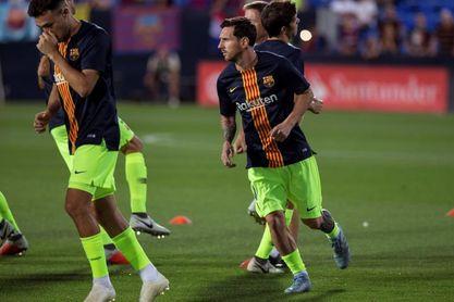 Munir y Vermaelen, titulares frente al Leganés; Suárez y Alba, suplentes