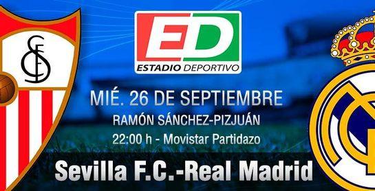 Sevilla F.C.-Real Madrid: Con el Sánchez-Pizjuán de gran aliado