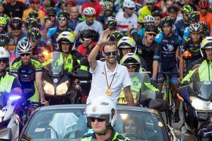 """Valverde: """"La región de Murcia merece tener un campeón del mundo de ciclismo"""""""