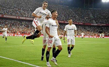 André Silva y Ben Yedder se entienden a la perfección, como demostraron en la goleada del Sevilla ante el Real Madrid (3-0), donde ambos marcaron y asistieron.