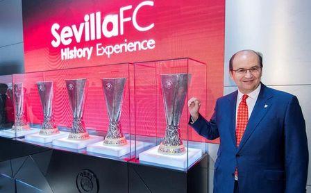 El Sevilla visita la oficina de LaLiga en Nueva York para buscar opciones de expansión