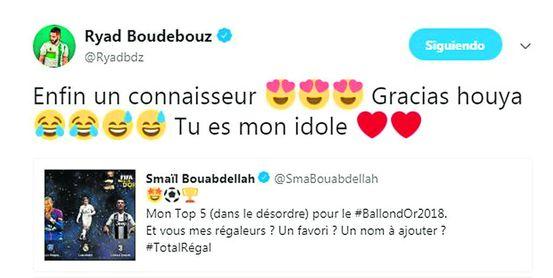 Boudebouz y su 'nominación' al Balón de Oro