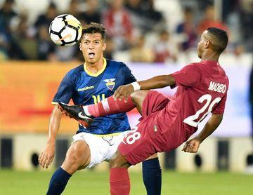 """4-3. Catar tumba al Ecuador de """"Bolillo"""" Gómez en un festival de goles"""