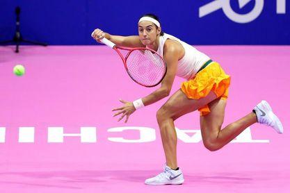Caroline García pasa a semifinales en Tianjin en una jornada de abandonos