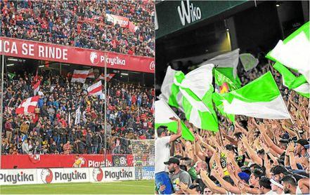 Sevilla y Betis tienen tirón