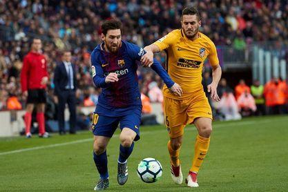 Atlético de Madrid-Barcelona, a las 20.45 del sábado 24 de noviembre