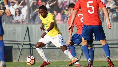 Brasil reservó Vinicius y Rodrygo hasta el segundo tiempo y empató con Chile