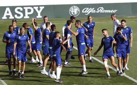 Setién volverá a rotar para el partido contra el Valladolid.