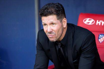 Simeone recupera a Costa y ya dispone de todos sus efectivos