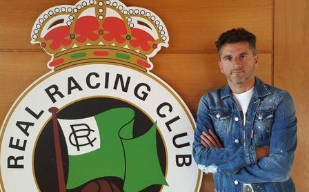Iván Ania, técnico del Racing de Santander.