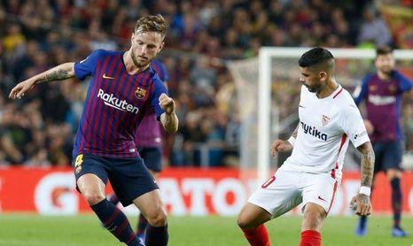 Barcelona 4-2 Sevilla, Final del partido en el Camp Nou