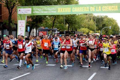 Ait Hadi e Isabel Martínez: doblete del Marathon en la Carrera de la Ciencia