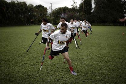Coraje y disciplina, los pilares de la selección de amputados de Costa Rica
