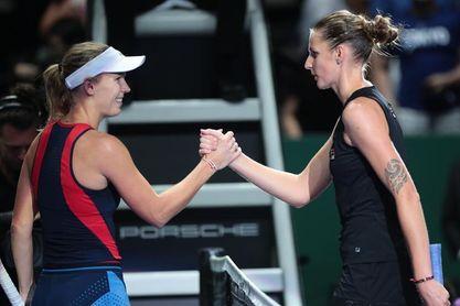 Pliskova hace tambalear el reinado de Wozniacki