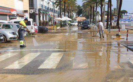 El Málaga donará la taquilla del partido ante el Numancia a los afectados por las inundaciones