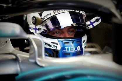 Bottas, por delante de Hamilton en el segundo entrenamiento en Interlagos