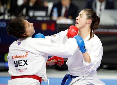 El equipo femenino español de kumite doblega al de México en su debut
