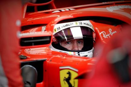 """Vettel sobre su incidente durante el pesaje: """"Quería que se dieran prisa"""""""