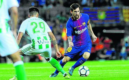 El Betis lleva dos décadas sin ganar en el Camp Nou