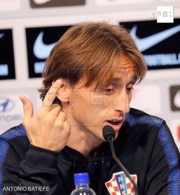 "Modric: ""Volví muy pronto del Mundial"""