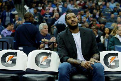 Los Rockets prescinden de Carmelo Anthony tras jugar diez partidos