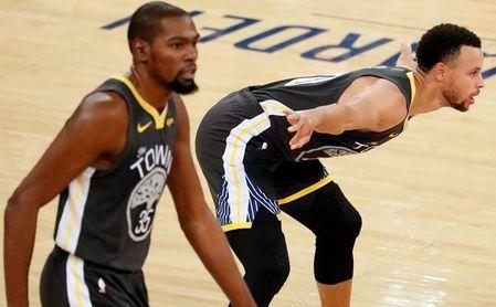 Los Rockets se reivindican ante los Warriors; los Nuggets cortan su racha perdedora