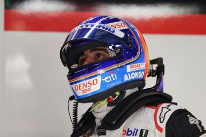Alonso sale segundo en China, ´pole´ en Shanghai para el Toyota de ´Pechito´