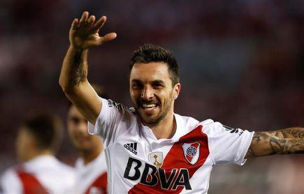 Scocco intensifica su preparación y se ilusiona con ser titular en la final de la Copa Libertadores