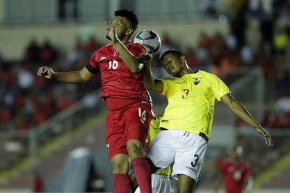 1-2. Ecuador alarga la racha negativa de la selección de Panamá en el 2018