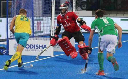 Australia gana a Irlanda e Inglaterra y China empatan en el mundial de hockey.