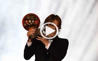 El año dorado de Luka Modric
