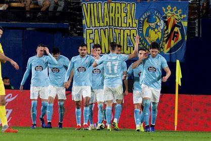 2-3. El Celta tumba a un Villarreal que reaccionó tarde