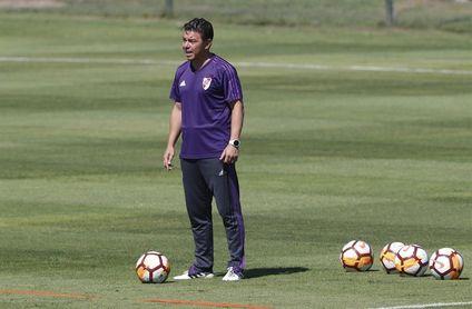 El presidente de River Plate confirma que Gallardo seguirá entrenando al club