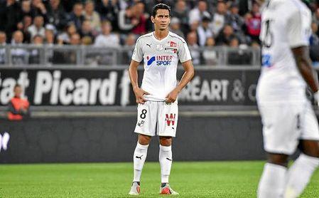 Ganso, durante un partido con el Amiens.