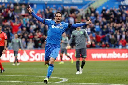 1-0. Jorge Molina aprovecha un regalo para ganar a la Real Sociedad