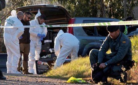 La Policía buscando pruebas del asesinato de Laura Luelmo