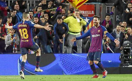 Messi ha participado en nueve goles en las últimas tres jornadas.