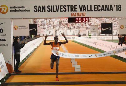 Kiplimo y Kosgei revientan los récords de Vallecas