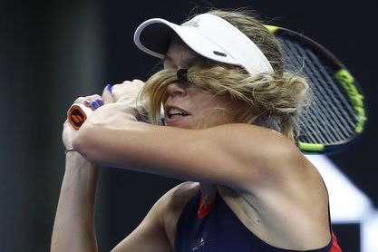 Wozniacki debuta con victoria frente a la alemana Siegemund