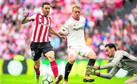 La pasada campaña, los nervionenses cayeron 1-0 en Bilbao.