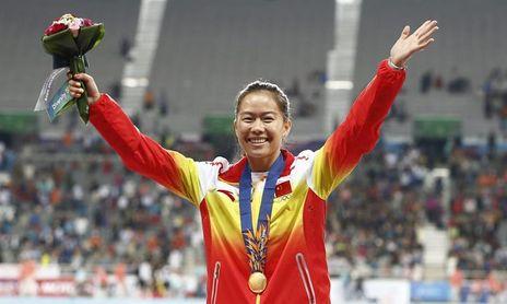 La mejor velocista china, sancionada sin correr durante 4 años por dopaje