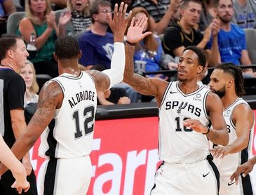 154-147. Aldridge anota 56 puntos ante Thunder, mejor marca, y los Spurs son nuevos líderes