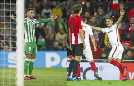 El Sevilla cumplió con creces, pero el Betis no pudo pasar del empate.