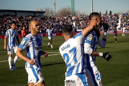 1-0. En-Nesyri solventa la falta de gol del Leganés y deja tocado al Huesca