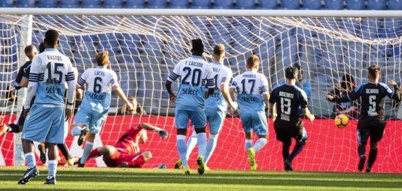 Luis Alberto abre el camino del Lazio hacia los cuartos de Copa Italia