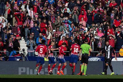 1-0. El Atlético insiste en la Liga