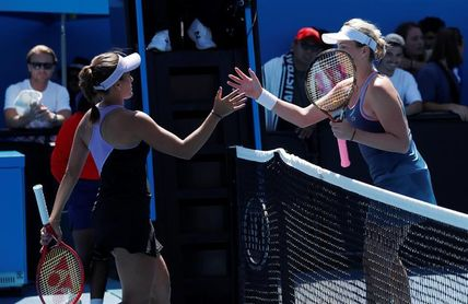 Puig se despidió en su estreno ante Pavlyuchenkova
