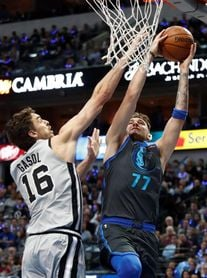 101-105. Belinelli lidera la victoria de los Spurs sobre los Mavericks