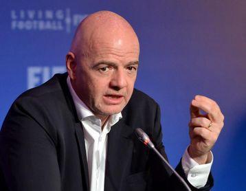 Infantino quiere reformar el Mundial de Clubes e incluir más equipos no europeos