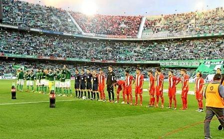 Imagen del último derbi de Copa, disputado en la 15/16 en el Benito Villamarín.